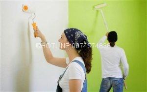 Thợ sơn nhà ở tại quận 10