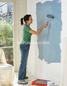 Thợ sơn nhà ở tại quận bình thạnh
