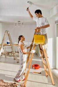 Thợ sơn nhà ở tại quận phú nhuận