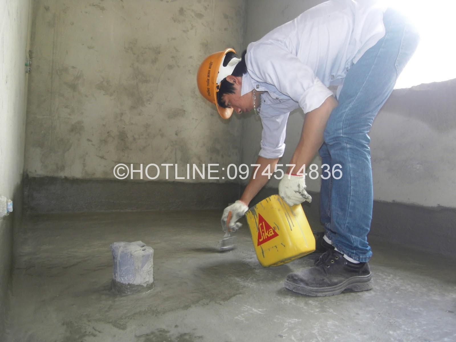 Công ty chống thấm nhà ở tại quận gò vấp