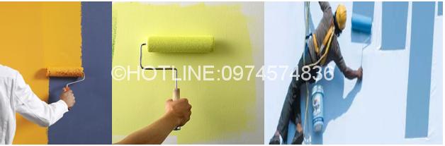 Thợ sơn nhà ở tại quận 9