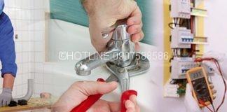Sửa chữa điện nước ở tại nhà quận 10