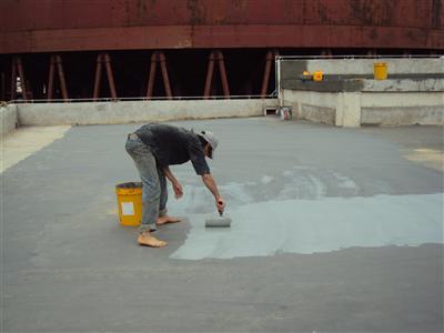 Xử lý chống thấm sàn bê tông ở tại tphcm