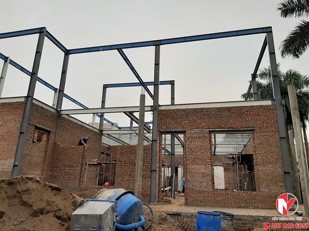 Thi công xây sửa nhà tại Nga Việt
