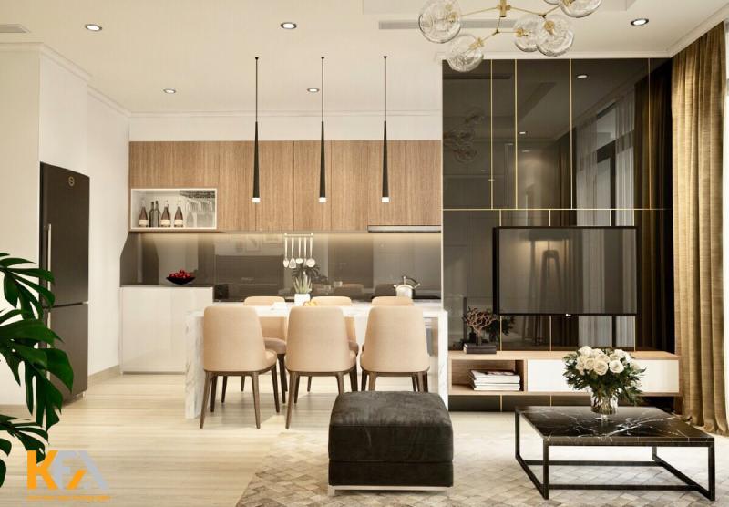 Không gian sống hoàn hảo cùng ý tưởng thiết kế nội thất chung cư