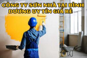Công ty sơn nhà tại Bình Dương